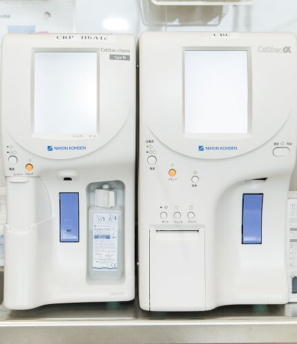 臨床化学分析装置・全自動血球計数器