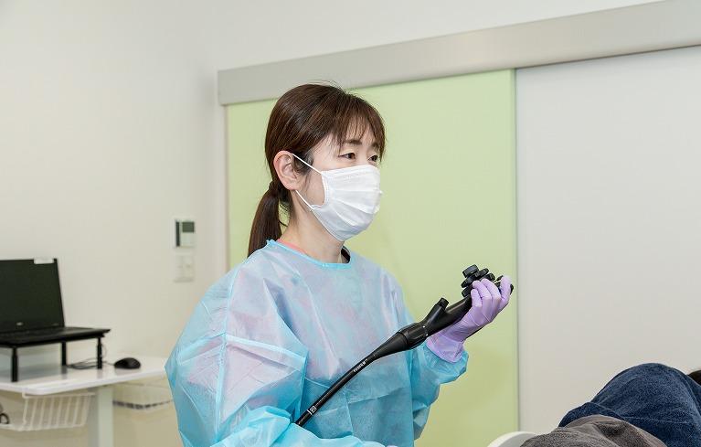 日本消化器内視鏡学会専門医による、正確で丁寧な大腸カメラ(大腸内視鏡検査)