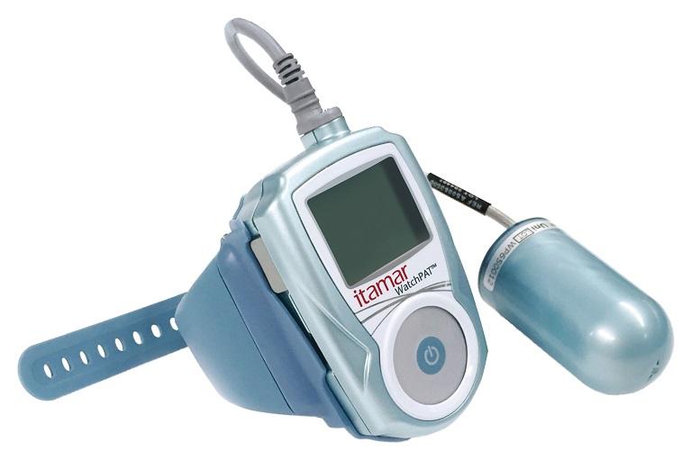 眠時無呼吸症候群の簡易検査